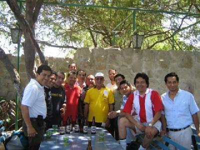 Con el Hno. Florentino Dorado